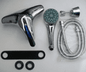Tre Mercati Modena Bath Shower Mixer and Basin Taps - 58495010/66